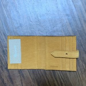 Madewell Bags - Madewell the post billfold wallet in corduroy sued